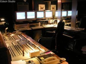 Edson studios controlroom
